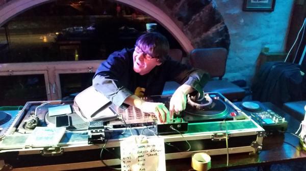 Graham DJing