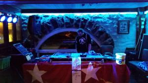Tom DJing