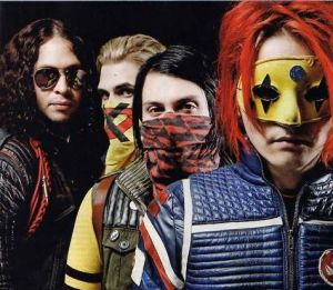 My Chemical Romance as The Killjoys of Danger Days