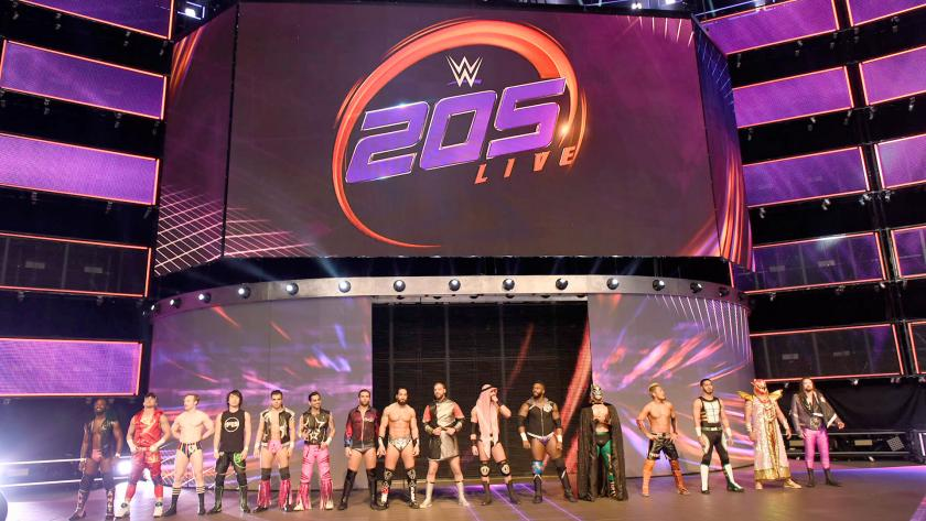 WWE 205 Live superstars