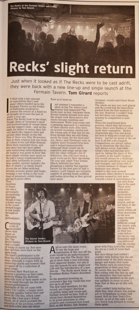 recks-return-gig-review-05-11-16