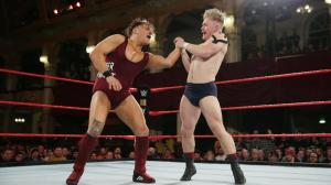 Pete Dunne and Tyler Bate