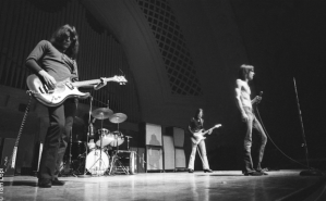 The Stooges on stage