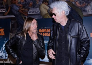 Iggy Pop and Jim Jarmusch Photo credit: Ken Settle