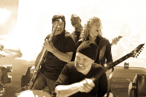 Metallica live in 2016