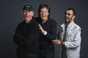 Ron Howard, Paul McCartney and Ringo Starr