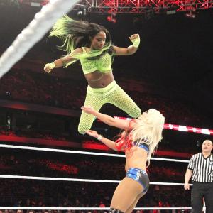 Naomi flies at Alexa Bliss