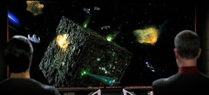 Borg cube battle