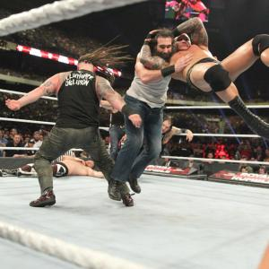The Wyatt Family explode