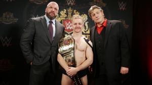 Triple H, Tyler Bate and William Regal
