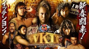 Wrestle Kingdom 11 poster