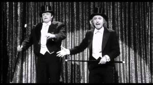 Peter Boyle and Gene Wilder