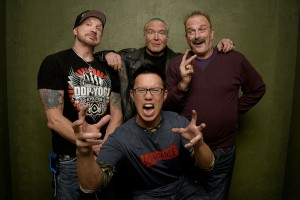 Diamond Dallas Page, Scott Hall, Jake Roberts and Steve Yu