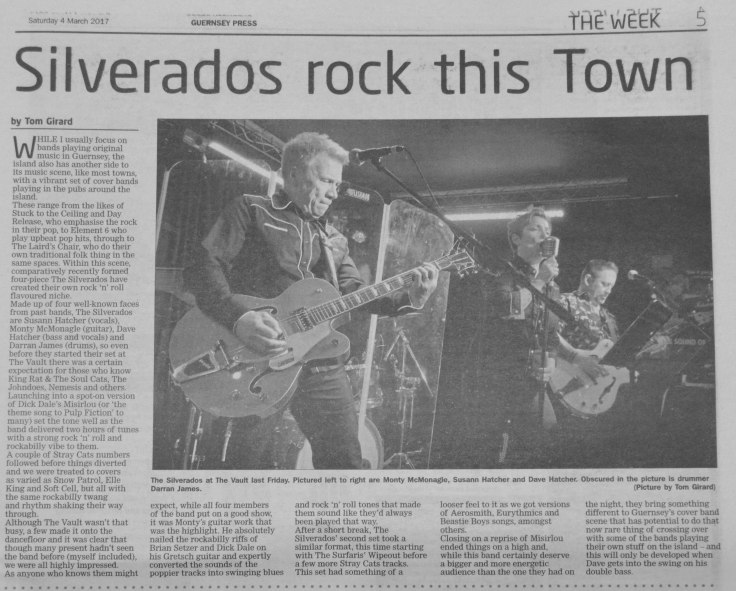 Silverados press clipping 04-03-17