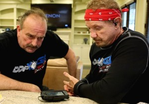Jake The Snake Roberts and Diamond Dallas Page