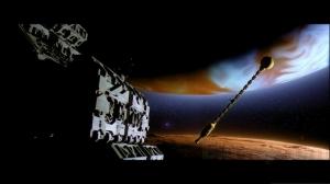 Leonov encounters Discovery