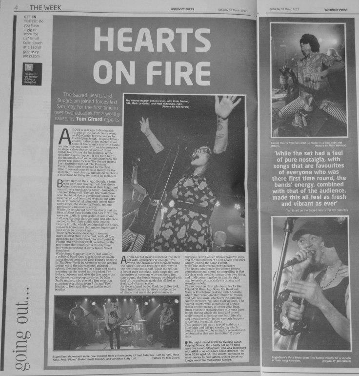 Sacred Hearts and SugarSlam review 18-03-17