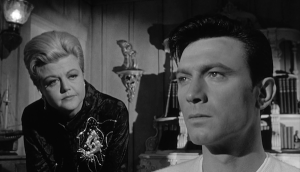 The Manchurian Candidate - Angela Lansbury and Laurence Harvey