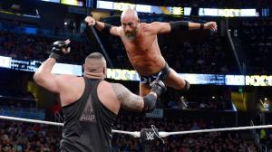Tommaso Ciampa flies at one of the Authors of Pain