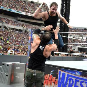 Baron Corbin and Dean Ambrose