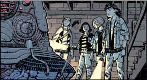 Paper Girls and object
