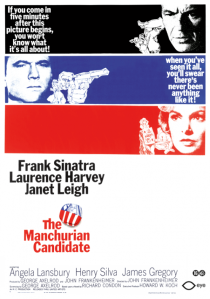 The Manchurian Candidate - 1962 poster