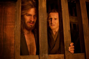 Silence - Andrew Garfield and Liam Neeson