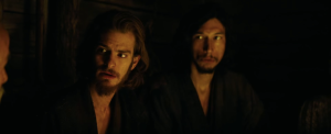 Silence movie - Andrew Garfield and Adam Driver