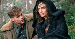 Chris Pine and Gal Gadot in Wonder Woman