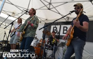 Tantale on the BBC Introducing Guernsey stage