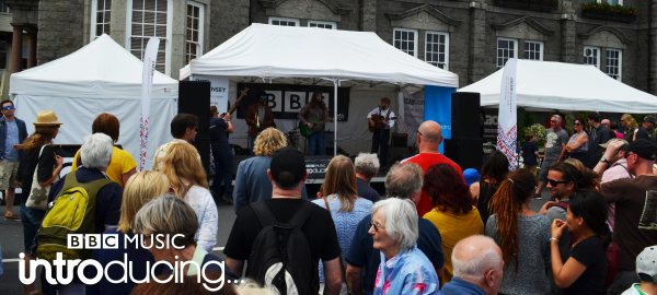The Recks on the BBC Introducing Guernsey stage