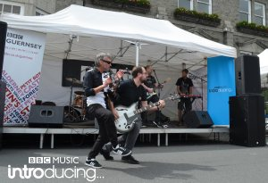 Thee Jenerators on the BBC Introducing stage