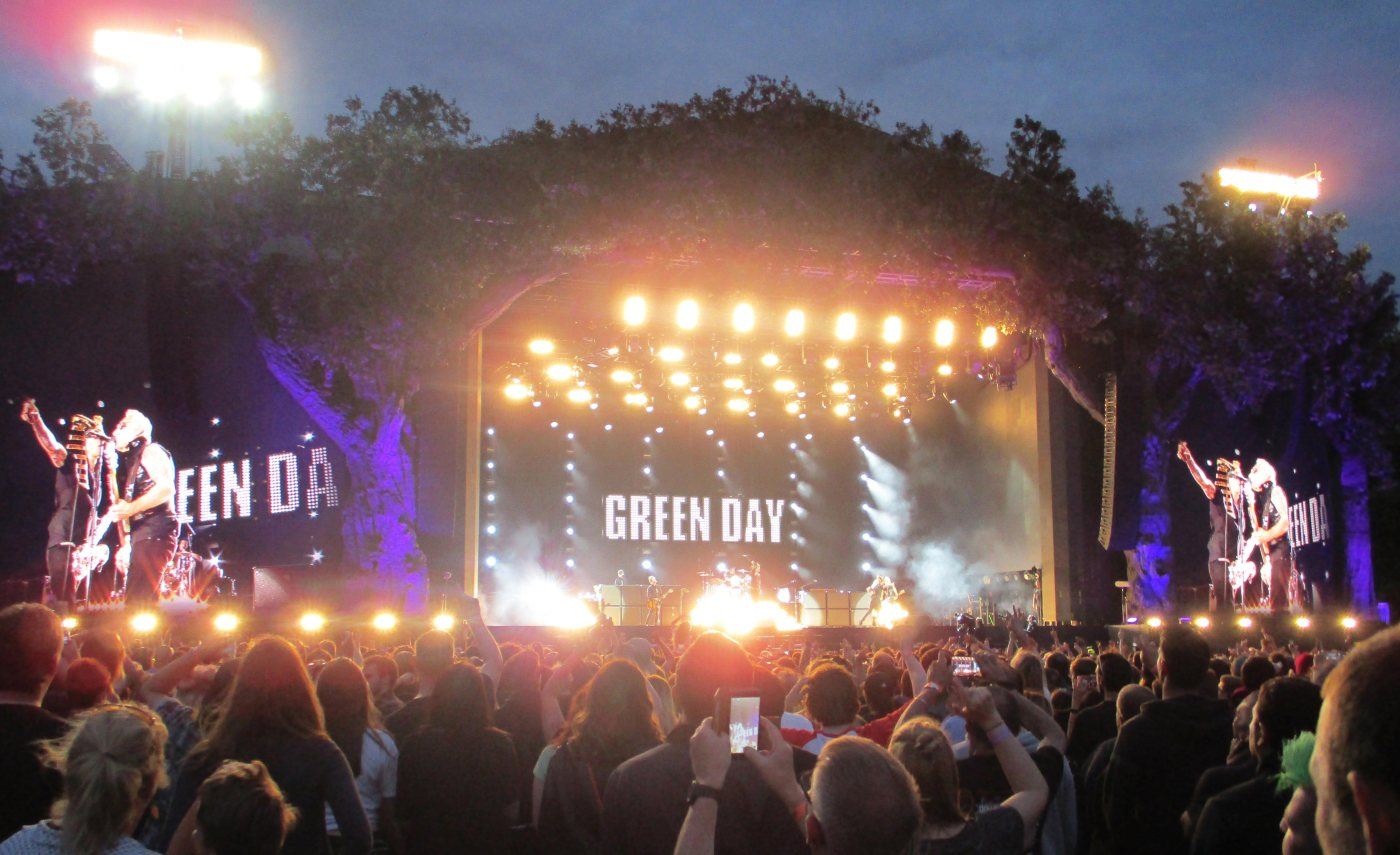 Green Day at BST Hyde Park