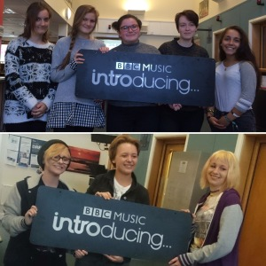 Vice and Track Not Found at the BBC Introducing Guernsey studio
