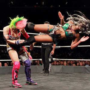 Asuka and Ember Moon