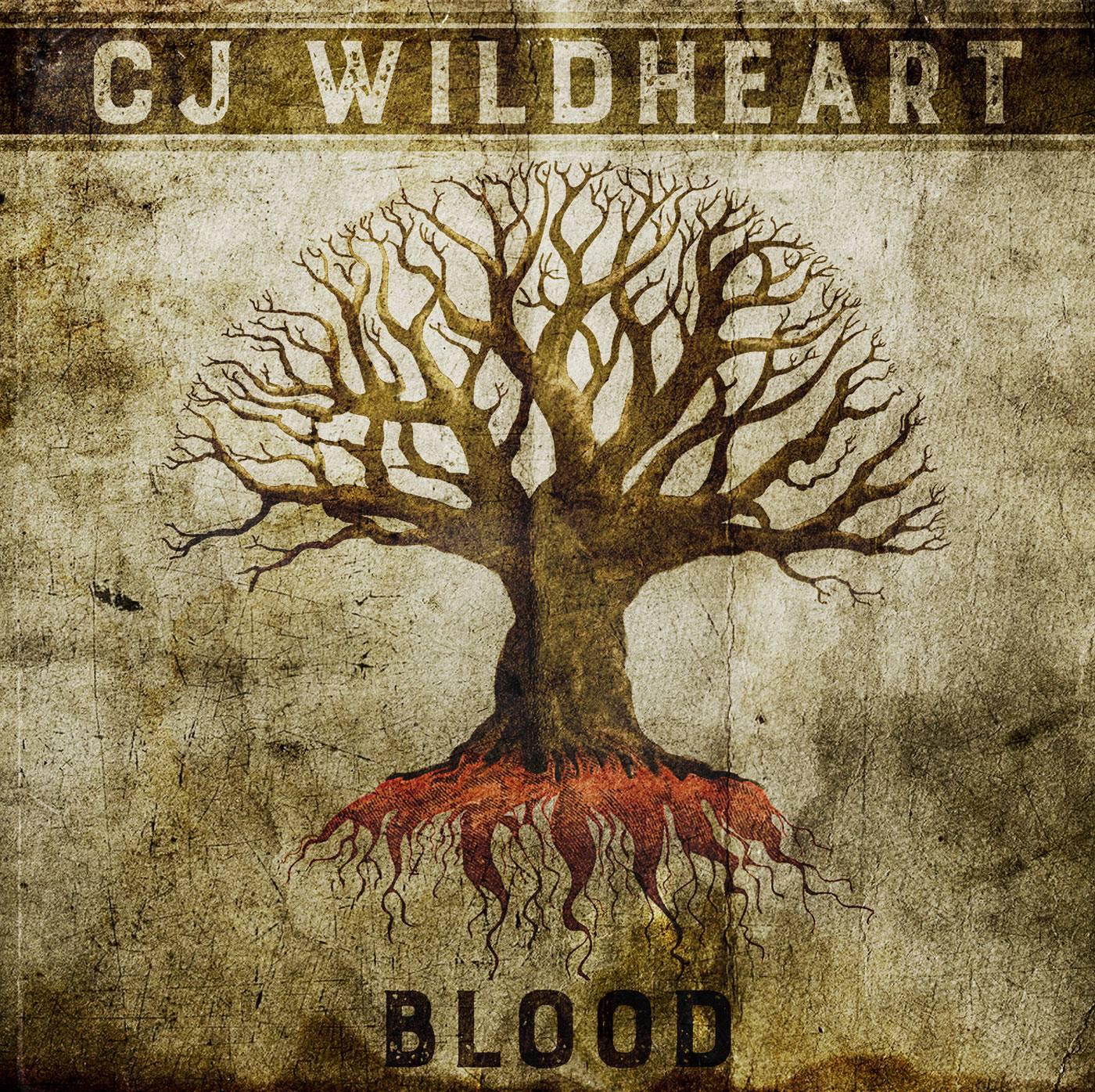 CJ Wildheart - Blood - album artwork