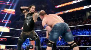 Baron Corbin and John Cena