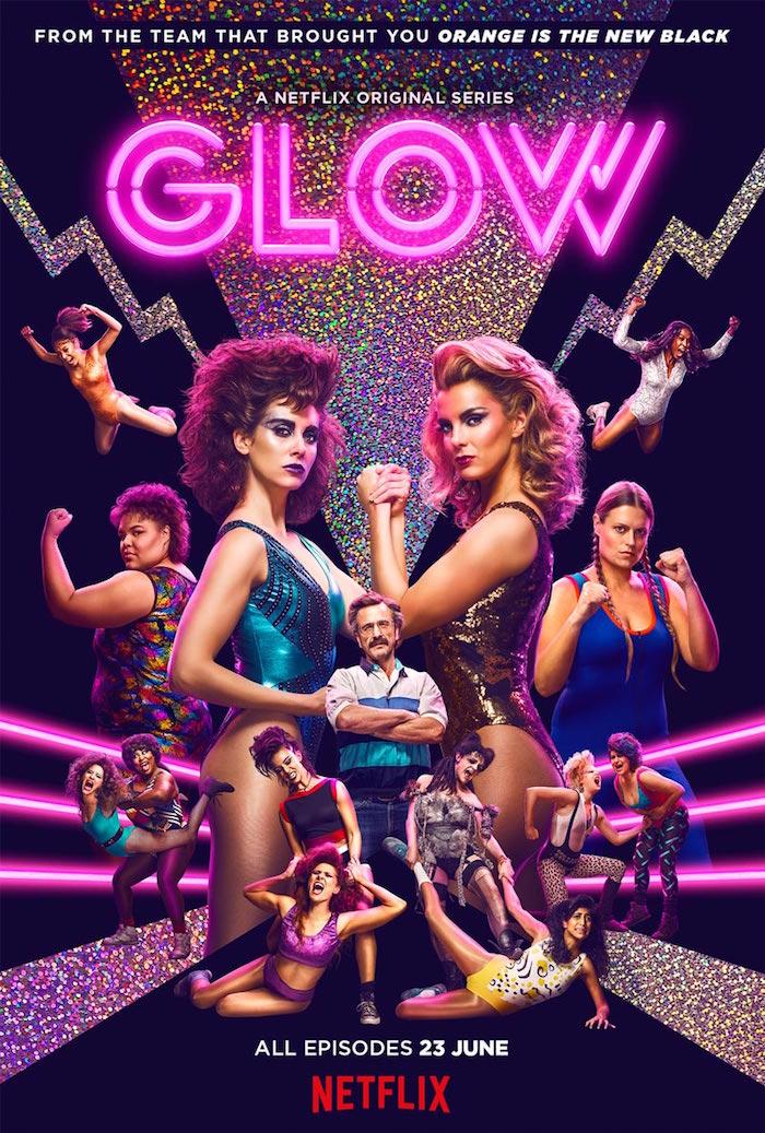 Netflix Glow poster