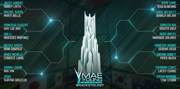 Mae Young Classic opening brackets