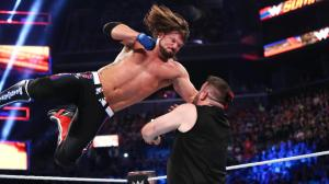 AJ Styles hits the Phenomenal Forearm
