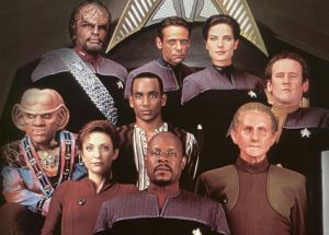 Star Trek Deep Space Nine crew