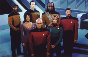 Star Trek The Next Generation core crew