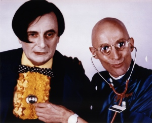 Barry Humphries and Richard O'Brien