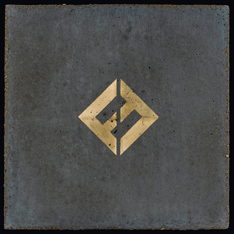 Foo Fighters - Concrete And Gold - album cover