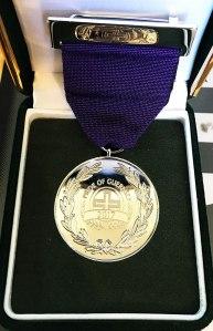Pride of Guernsey medal