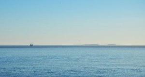 Channel Islands from Gaviota vista point