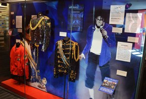 Michael Jackson costumes at the Grammy Museum