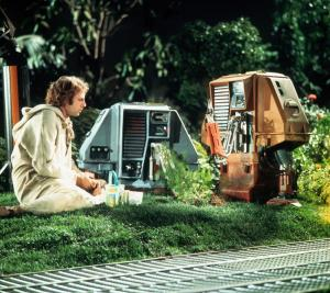 Bruce Dern and robots - Silent Running