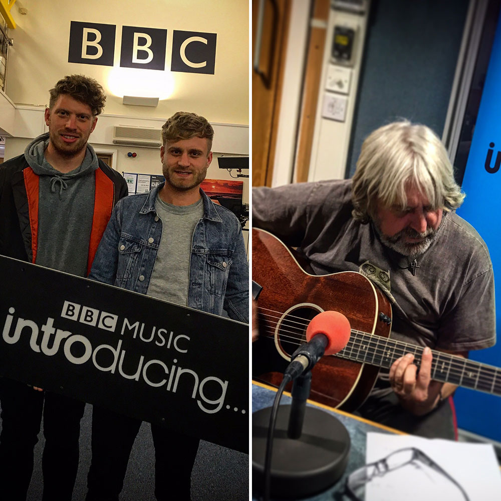 Without and Guppy on BBC Introducing Guernsey