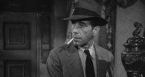 Humphrey Bogart as Philip Marlowe